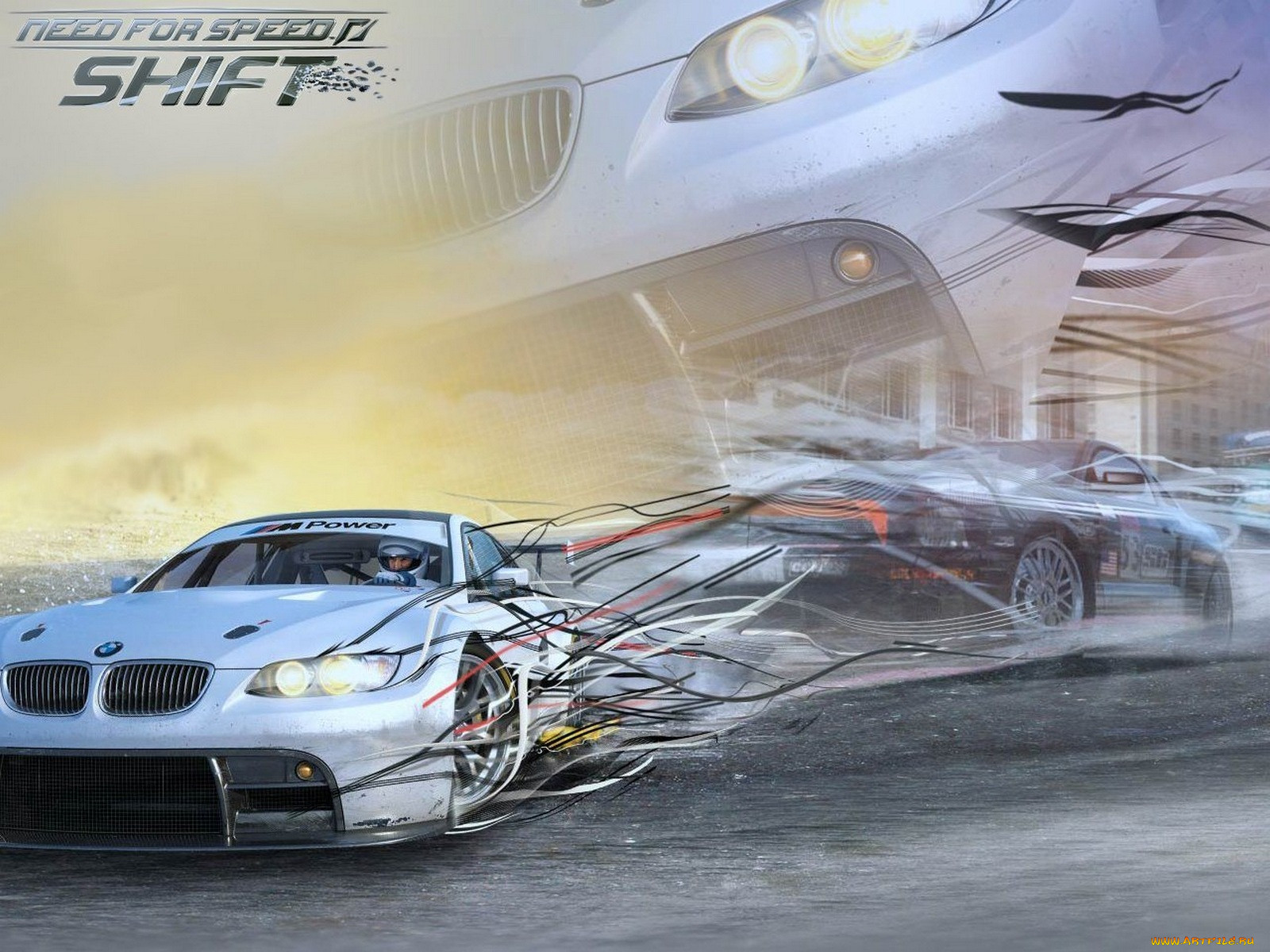 Игру Need For Speed Shift